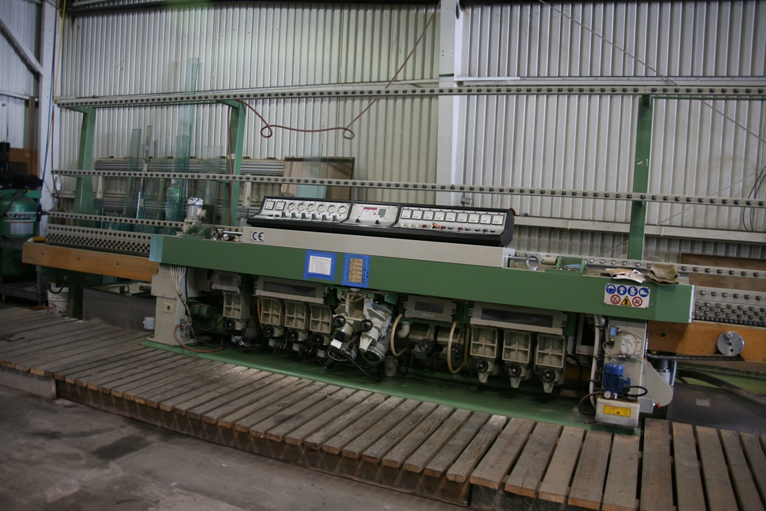 Glass / ceramics machines glass edge polisher