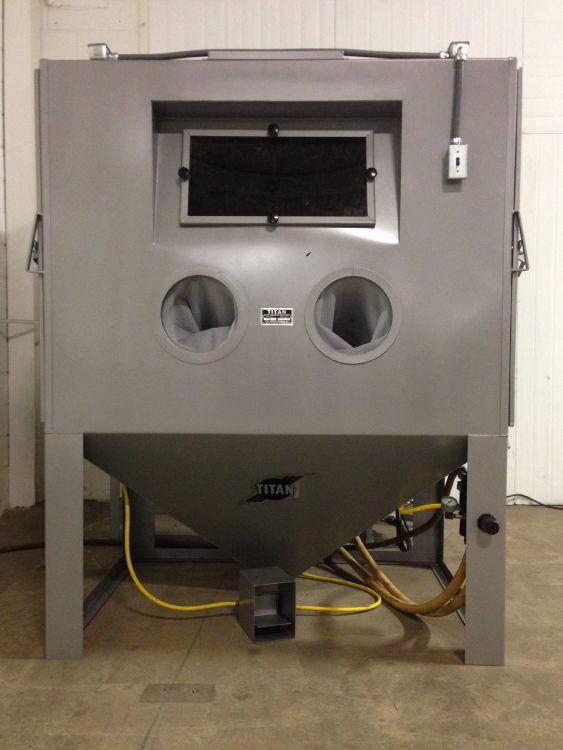 Cleaning technology Sand blasting machine