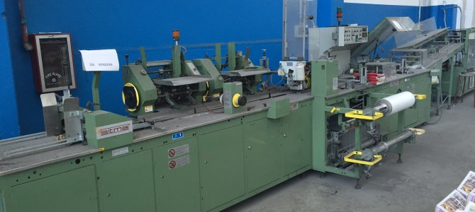 Packaging machine Sitma film wrapping machine