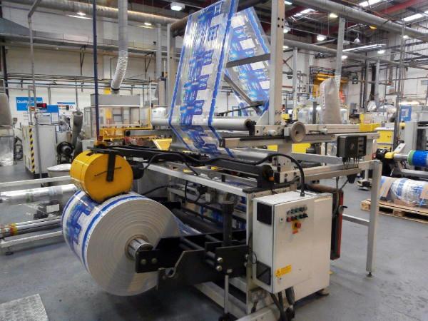 Paper / Cardboard / Foils Stiegler bag making machine