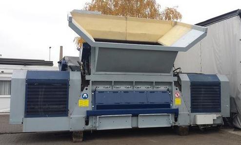 Waste disposal / Recycling Lindner Schredder