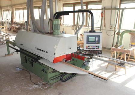 Wood working machines Weinig Unicontrol 10 Window production line
